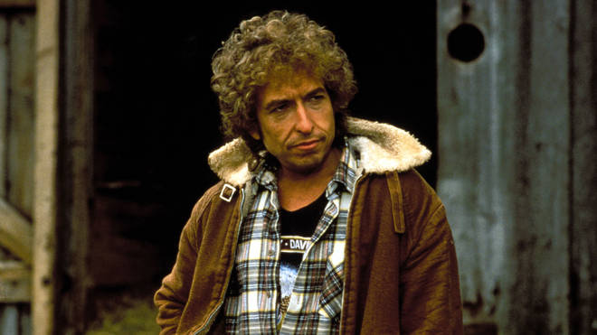 Bob Dylan in the film Hearts Of Fire, 1986