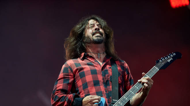 Foo Fighters' Dave Grohl at Rock am Ring Festival
