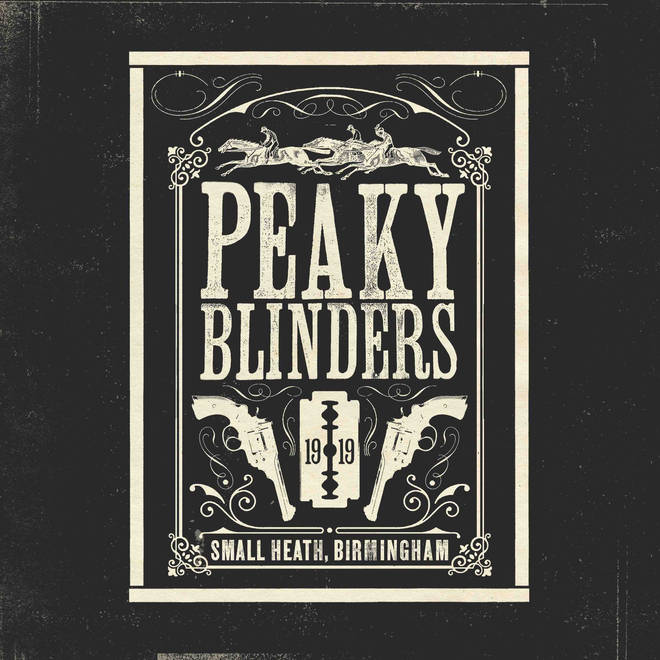 Artwork for the Peay Blinders first official soundtrack