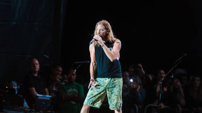 Taylor Hawkins of Foo Fighters at Rock in Rio 2019