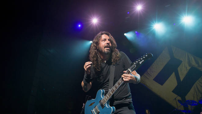 Dave Grohl performs in 2017