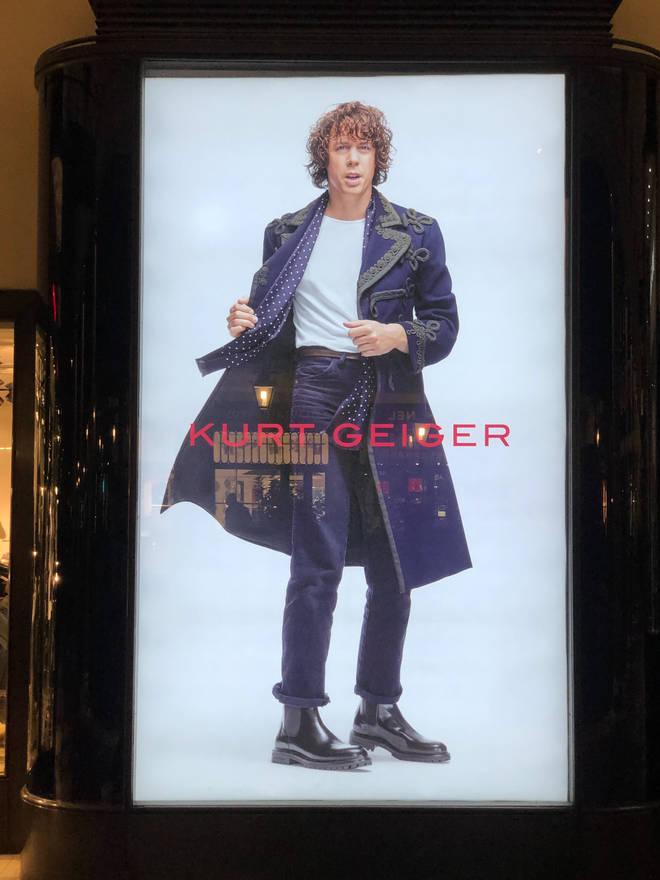 Razorlight's Johnny Borrell in Kurt Geiger fashion campaign