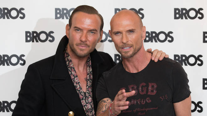Matt and Luke Goss from Bros in 2016