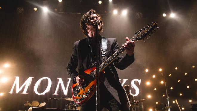 Arctic Monkeys Alex Turner at the Royal Albet Hall, London