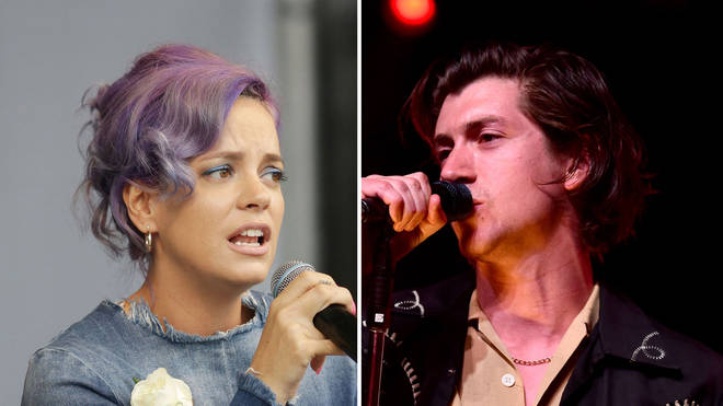 Lily Allen and Arctic Monkeys' Alex Turner