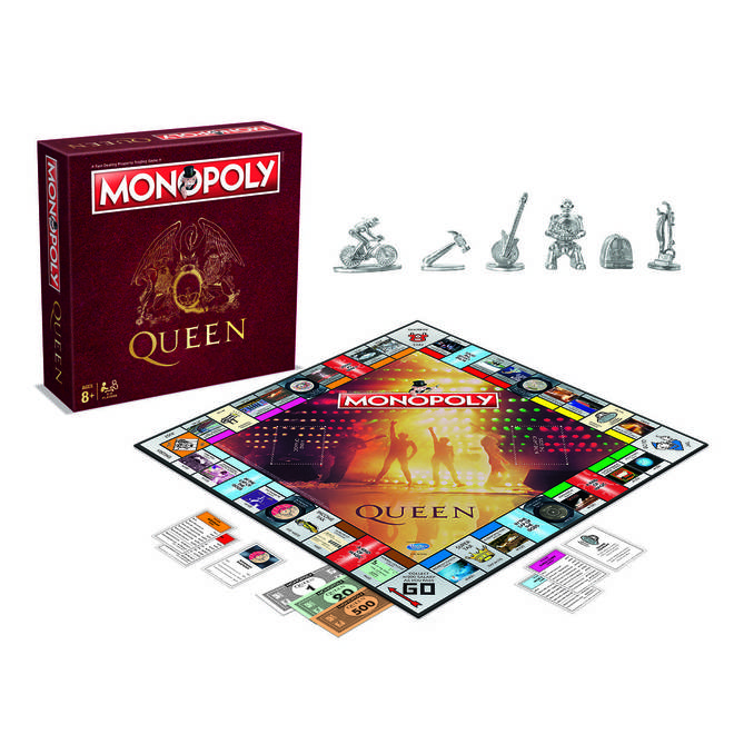 Queen Monopoly set