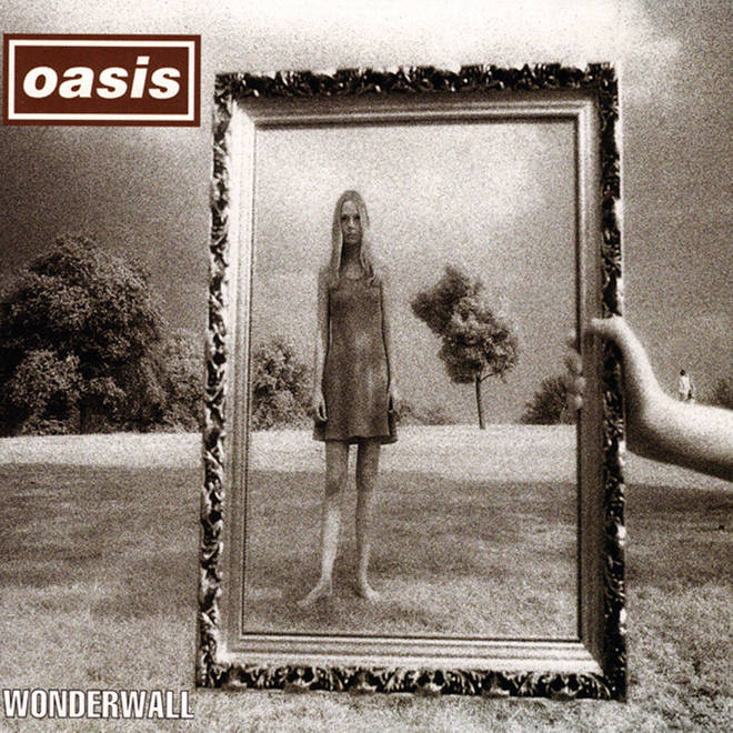 Oasis Wonderwall single artwork