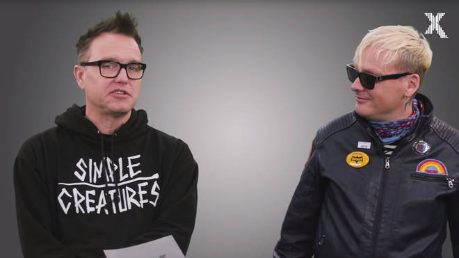 Blink 182's Mark Hoppus and Matt Skiba