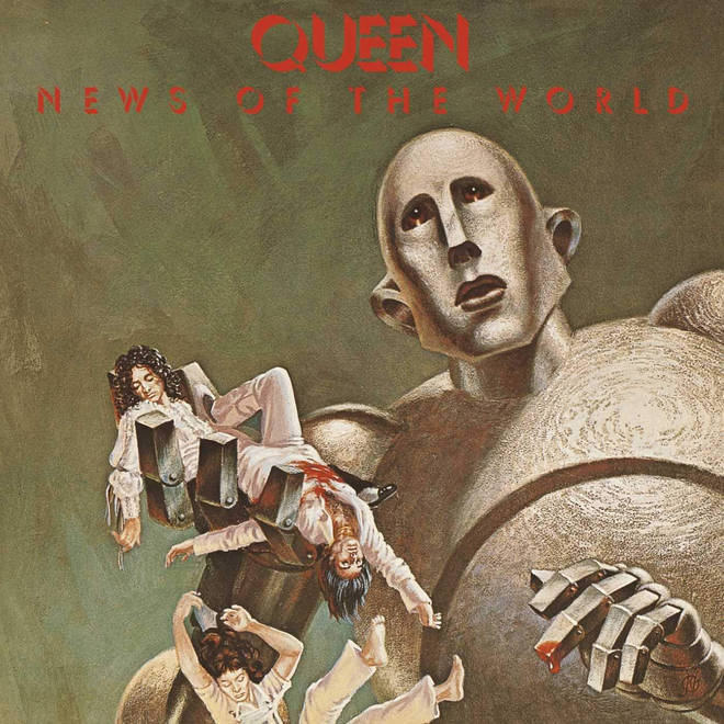 Queen - News Of The World cover