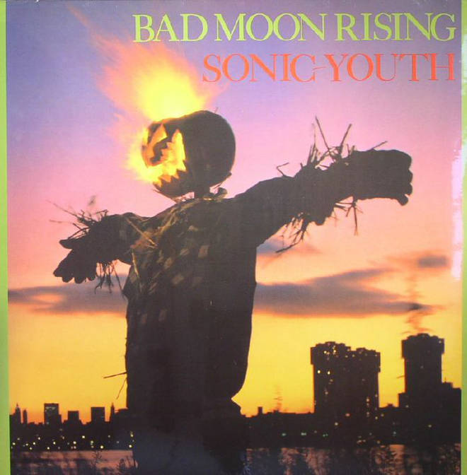 Sonic Youth - Bad Moon Rising album cover