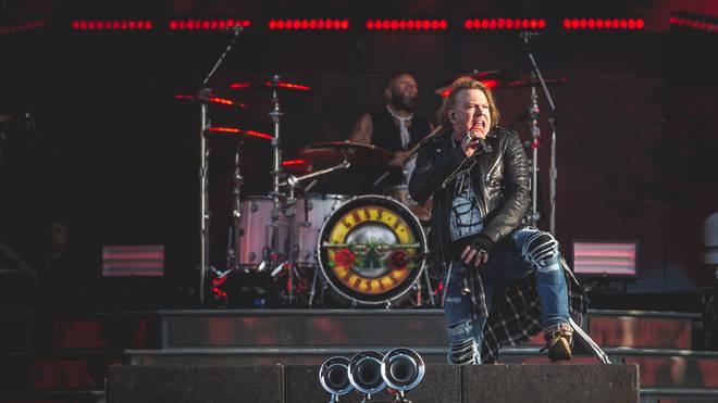Guns N' Roses' Axl Rose at Download Festival 2018