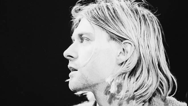 Kurt Cobain on MTV Unplugged, November 1993