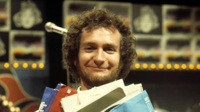 Kenny Everett in the studio, October 1973