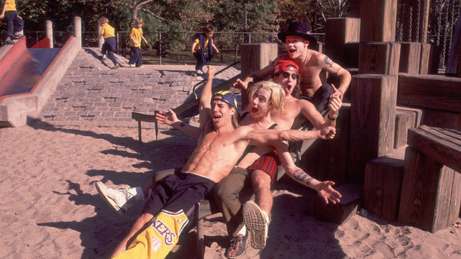 Red Hot Chili Peppers in Central Park, October 28, 1989
