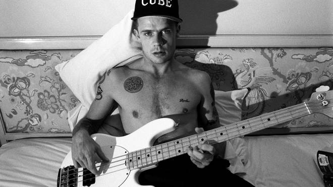 Flea pf Red Hot Chili Peppers in New York, August 1992