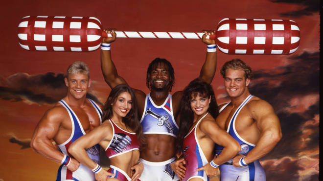 90s' Gladiators stars reunited on television