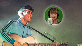 Gerry Cinnamon with Lorraine Kelly inset