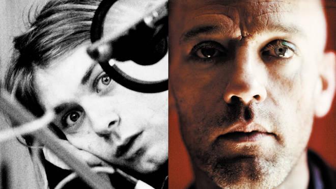 Kurt Cobain in 1991; Michael Stipe in 1998
