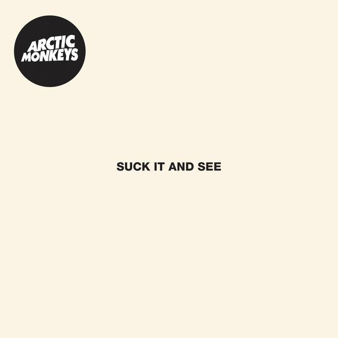 Arctic Monkeys' Suck It And See album artwork cover
