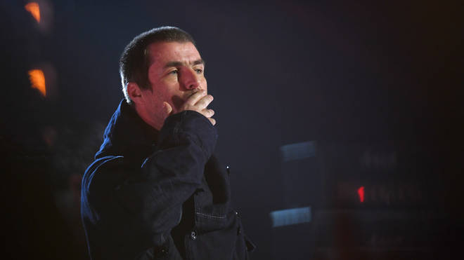 Liam Gallagher performs at the MTV EMAs 2019