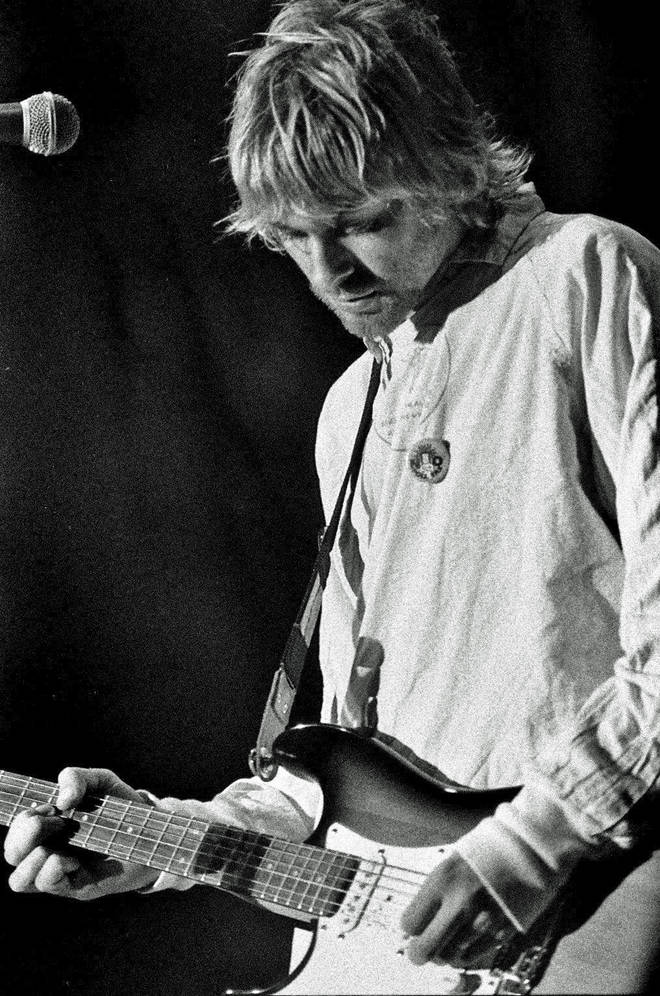 Kurt Cobain at Reading, August 1992
