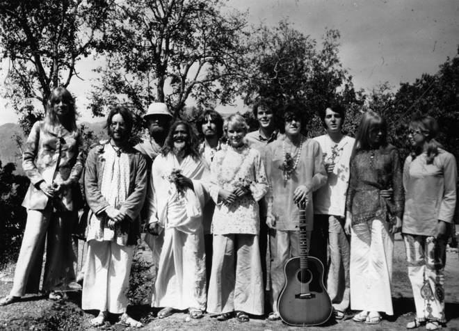 The Beatles in India, March 1968