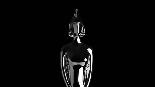 The classic Lady Britannia BRIT Awards statuette