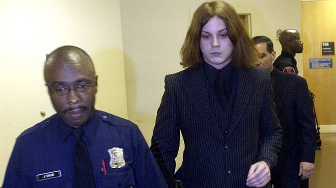 Jack White leaves court in Michigan on 9 March 2004
