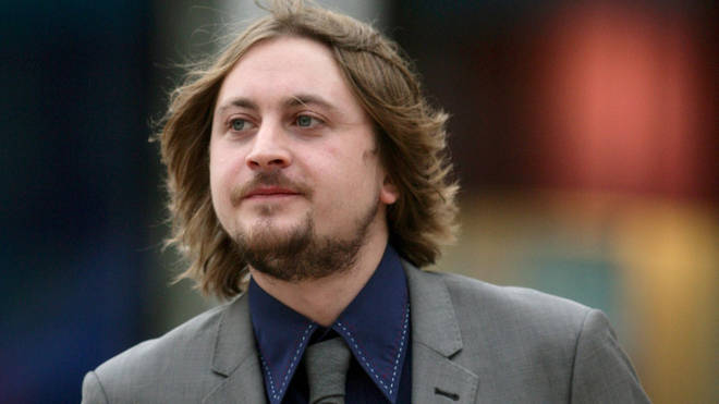 Dave McCabe arrives at Liverpool Crown Court, Liverpool on 29 October 2010