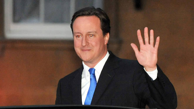 Former UK Prime Minister David Cameron in 2010