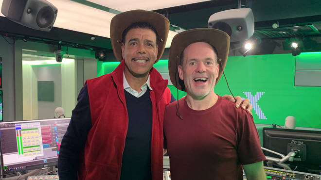 Chris Kamara and Chris Moyles reveal I'm A Celebrity... Get Me Out Of Here prank!