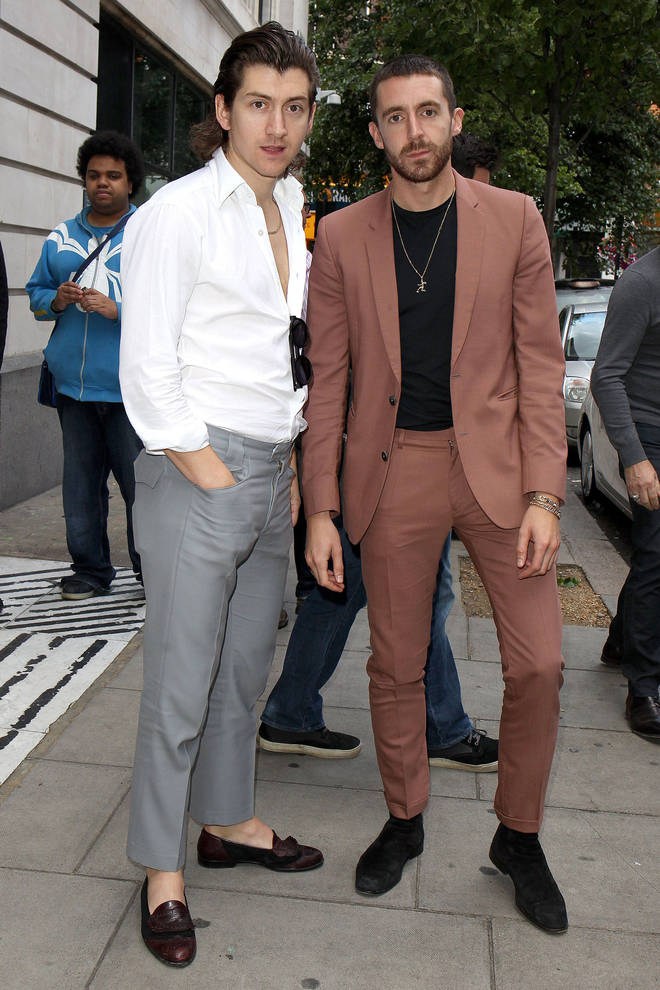 Alex Turner and Miles Kane in London, July 2016