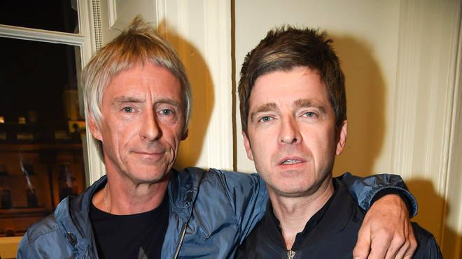 Paul Weller and Noel Gallagher, October 2014