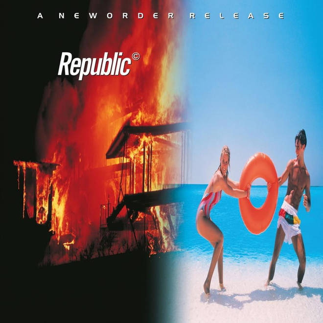 New Order - Republic album cover