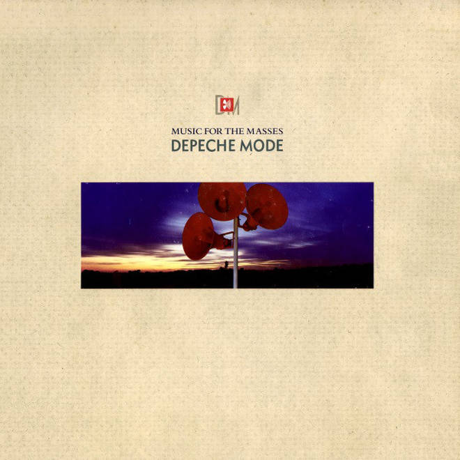 Depeche Mode - Music For The Masses album cover