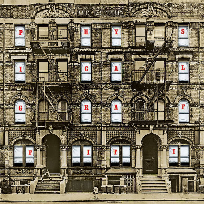 Led Zeppelin - Physical Graffiti album cover