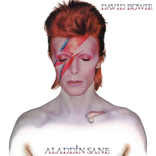 David Bowie - Aladdin Sane album cover