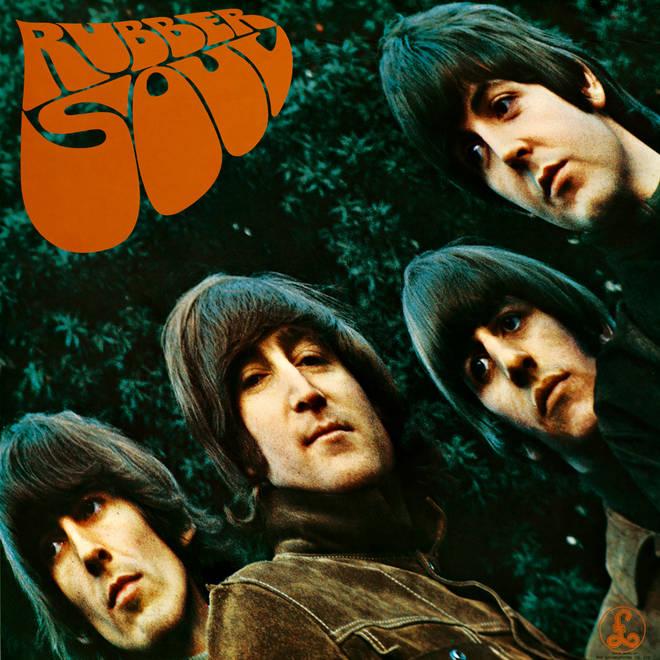 The Beatles - Rubber Soul album cover