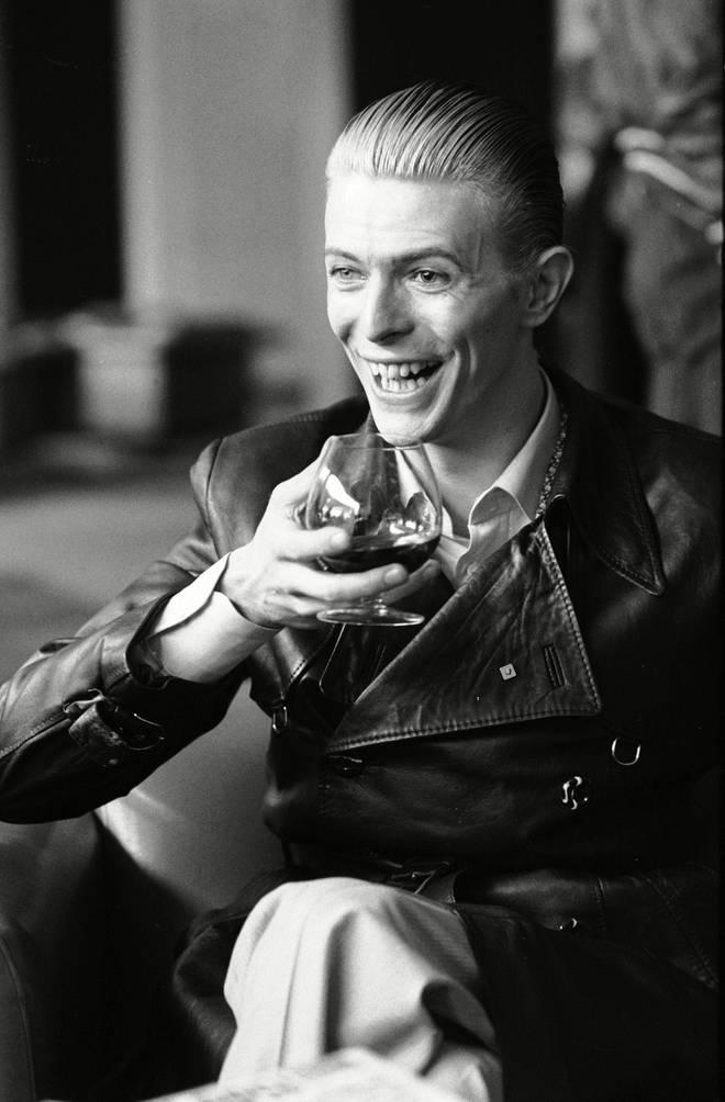 David Bowie in Helsinki in 1976