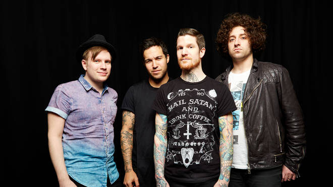 Fall Out Boy in 2013: Patrick Stump, Pete Wentz, Andy Hurley and Joe Trohman