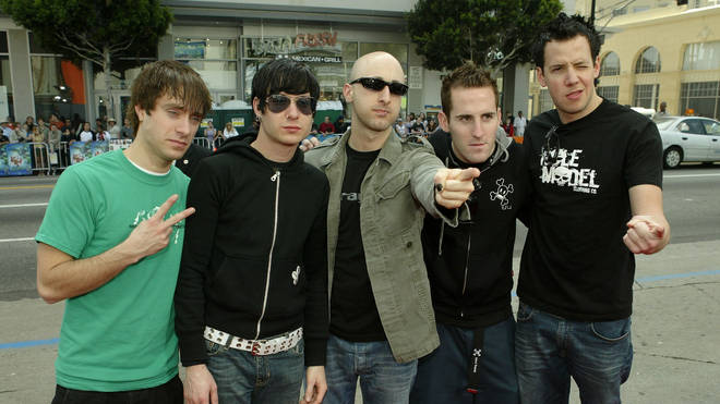 Simple Plan in March 2004