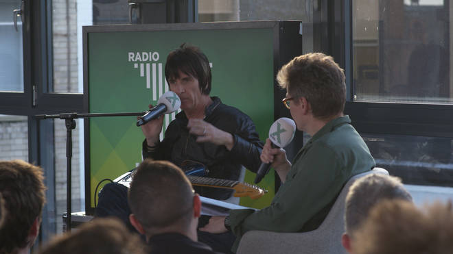 Johnny Marr speaks to Radio X's John Kennedy