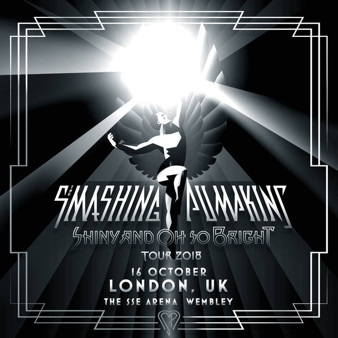 Smashing Pumpkins' SSE Wembley Arena announcement poster
