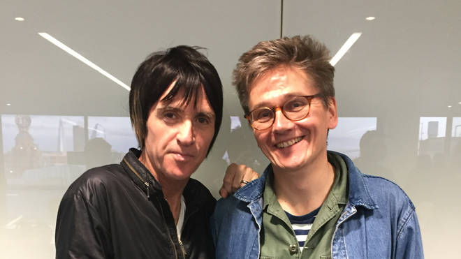 Johnny Marr and John Kennedy