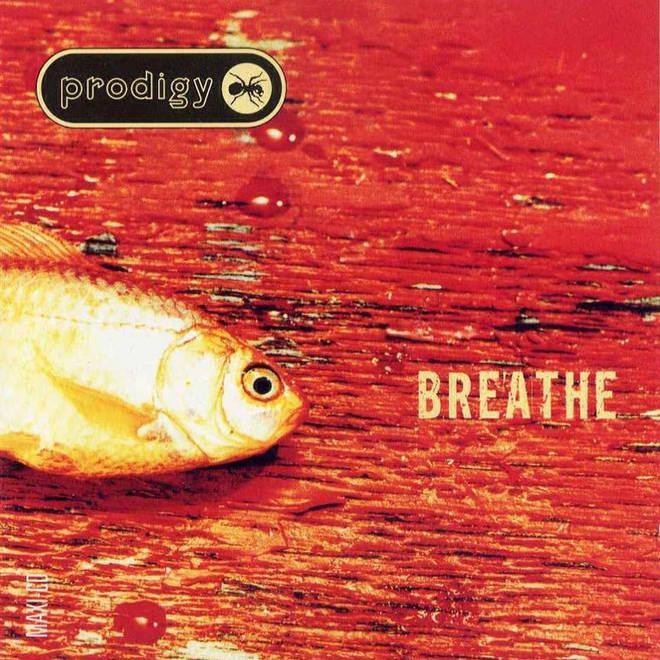 The Prodigy's Breathe single artwork
