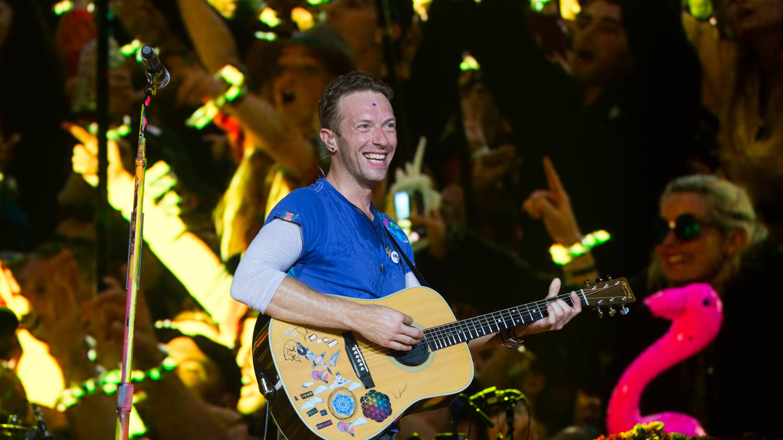 Chris Martin reveals if Coldplay are playing Glastonbury 2020