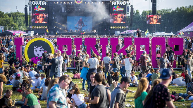 Pinkpop Festival 2018 sign