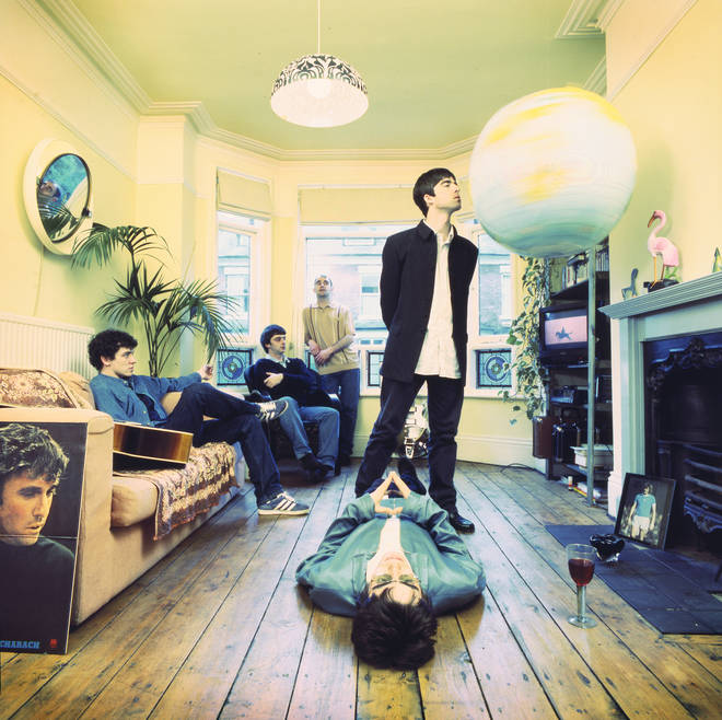 Oasis - Definitely Maybe album cover outtake