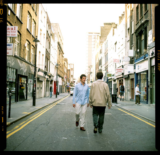 Oasis - What's The Story album cover outtake