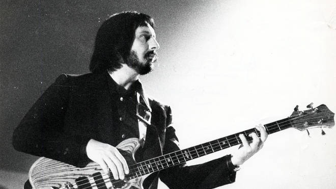 John Entwistle onstage with The Who in 1975